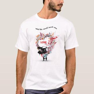 Camiseta DULCE de Boston Terrier del AMOR del AMOR