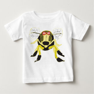 Camiseta dulce del bebé de la abeja de la miel playeras