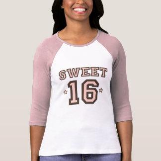 Camiseta dulce del raglán Sixteen16 Playera