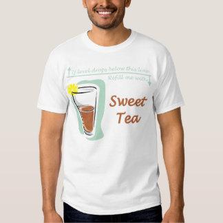 Camiseta dulce del té playera