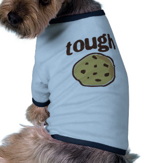 Camiseta dura de la galleta ropa de mascota