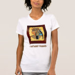 Camiseta egipcia antigua de la reina Cleopatra