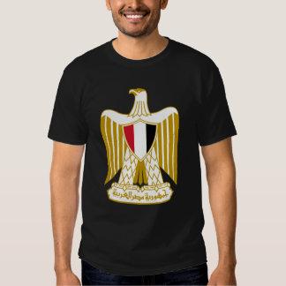 Camiseta egipcia del escudo de armas playeras