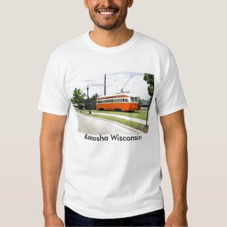 Camiseta eléctrica de la tranvía camisas