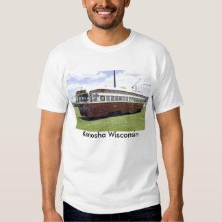 Camiseta eléctrica de la tranvía playeras