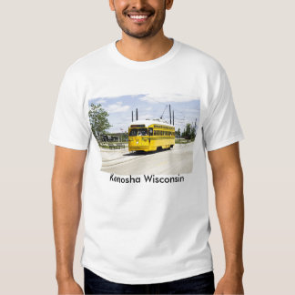 Camiseta eléctrica de la tranvía poleras