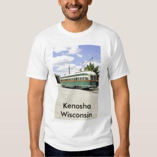 Camiseta eléctrica de la tranvía remeras
