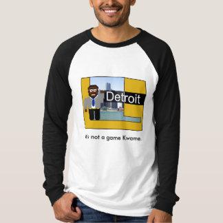 Camiseta electrónica de Kwame Poleras