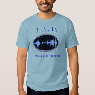 Camiseta electrónica de los fenómenos de la voz playera