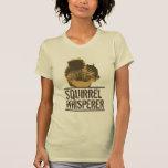 Camiseta elegante del Whisperer de la ardilla