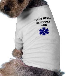 Camiseta emocional de las camisetas sin mangas del camisetas de perro