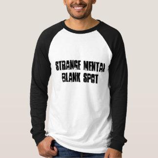 Camiseta en blanco mental extraña 3 del aa del camisas