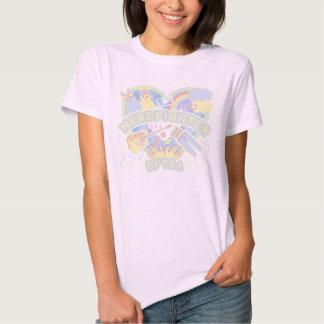 Camiseta en colores pastel de Nerdfighter de la Playera
