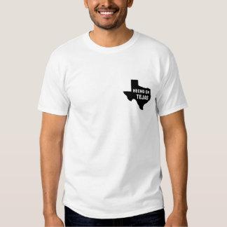 Camiseta - en Tejas de Hecho Playera
