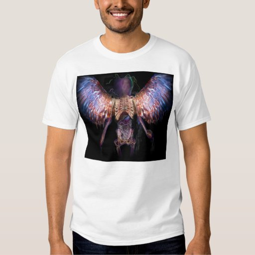 camiseta encuadernada del azazael - modificada playera