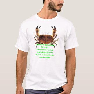 Camiseta enemiga gigante del cangrejo