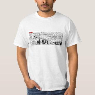 Camiseta enérgica de la inmersión del buñuelo remeras