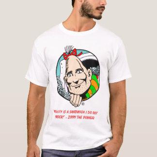 """Camiseta enérgica de la """"realidad"""""""