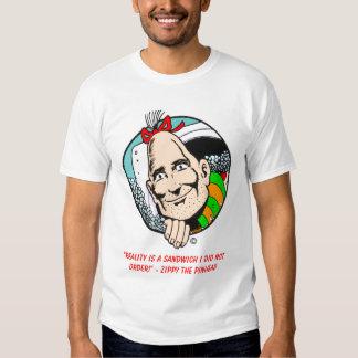 """Camiseta enérgica de la """"realidad"""" playeras"""