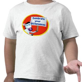 Camiseta enérgica del niño