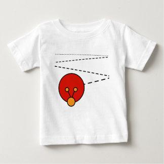 Camiseta enérgica del niño del insecto playera