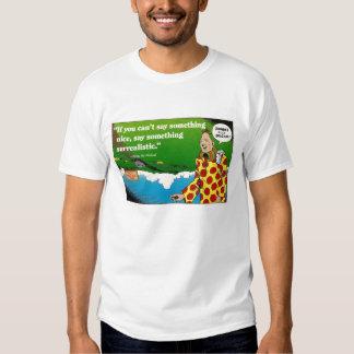 Camiseta enérgica surrealista playeras