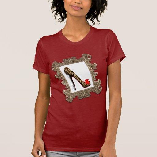 Camiseta enmarcada de la bomba del estilete del le