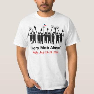 Camiseta enojada de la multitud de Bernie Playera