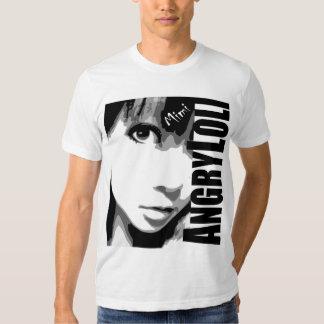 Camiseta enojada de Loli Poleras