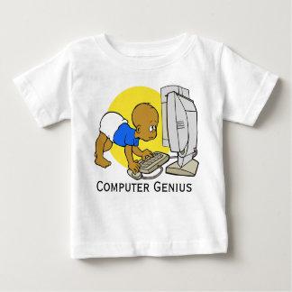 """""""Camiseta/enredadera lindas del bebé del genio del T Shirt"""