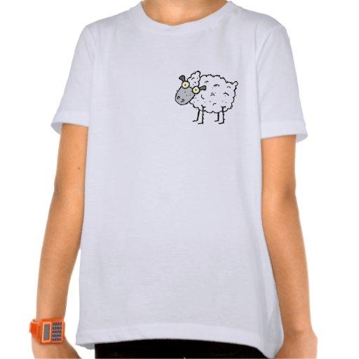 Camiseta enrrollada del campanero de los chicas de