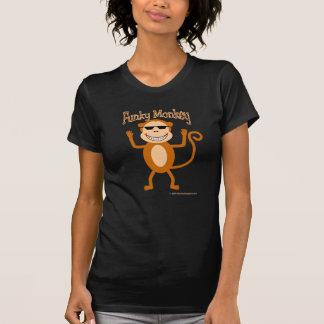 Camiseta enrrollada del mono