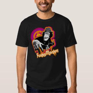 Camiseta enrrollada del mono remeras