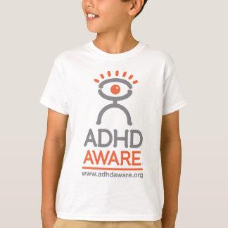 Camiseta enterada del ADHD del niño
