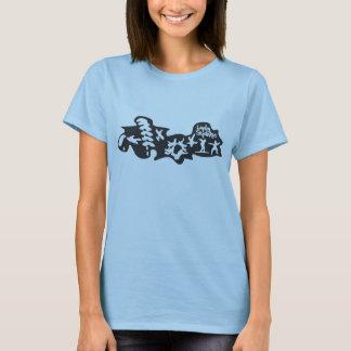 Camiseta envuelta cortocircuito de los Skydivers