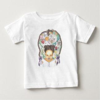 Camiseta érase una vez pequeña del niño del lector poleras