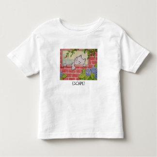 """Camiseta """"escape """" del niño playera de niño"""
