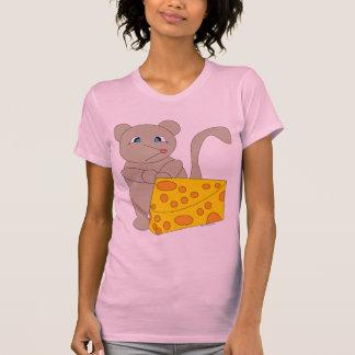 Camiseta escarpada de las señoras Twofer del ratón Camisas