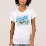 Camiseta escénica del paso de Altamont