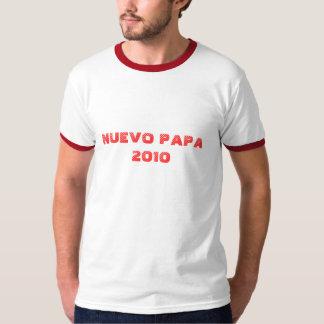 CAMISETA ESPAÑOLA 2010 DE LA PAPÁ DE NUEVO POLERA