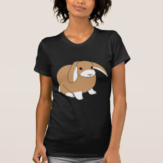 Camiseta espigada linda del conejo del Lop Playeras