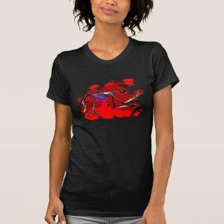 Camiseta esquelética de la pereza (para mujer)