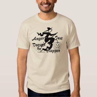 Camiseta estacional del regalo de la cólera de playeras