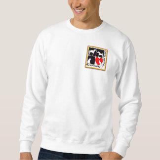 Camiseta estándar con el logotipo de MCHS Sudaderas Encapuchadas