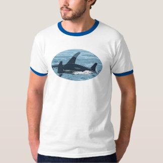 Camiseta estilizada de la orca