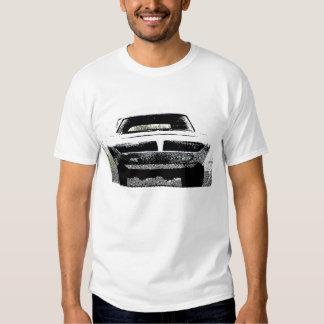Camiseta estupenda 1970 del coche del pájaro de remera
