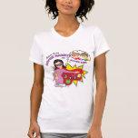 Camiseta estupenda de la niñera