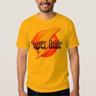 Camiseta estupenda del logotipo del relámpago del remera