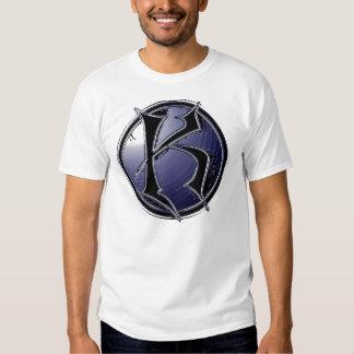 Camiseta estupenda del neón de K Playera
