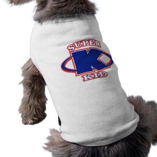 Camiseta estupenda del perro de los muchachos del  ropa de mascota